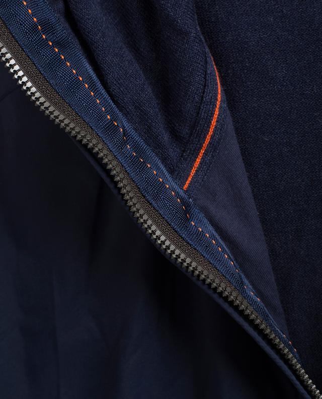 Cardigan bi-matière Franklin PARAJUMPERS