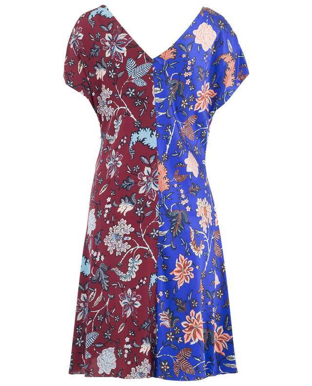 Drapiertes Kleid aus Seide DIANE VON FURSTENBERG