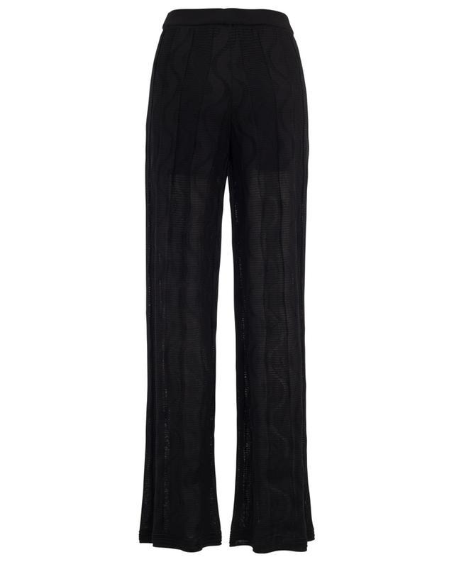 Pantalon droit en coton et viscose M MISSONI