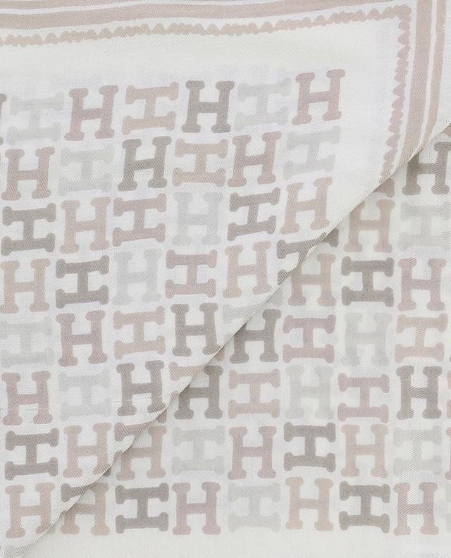 Halstuch aus Seide mit Print HEMISPHERE