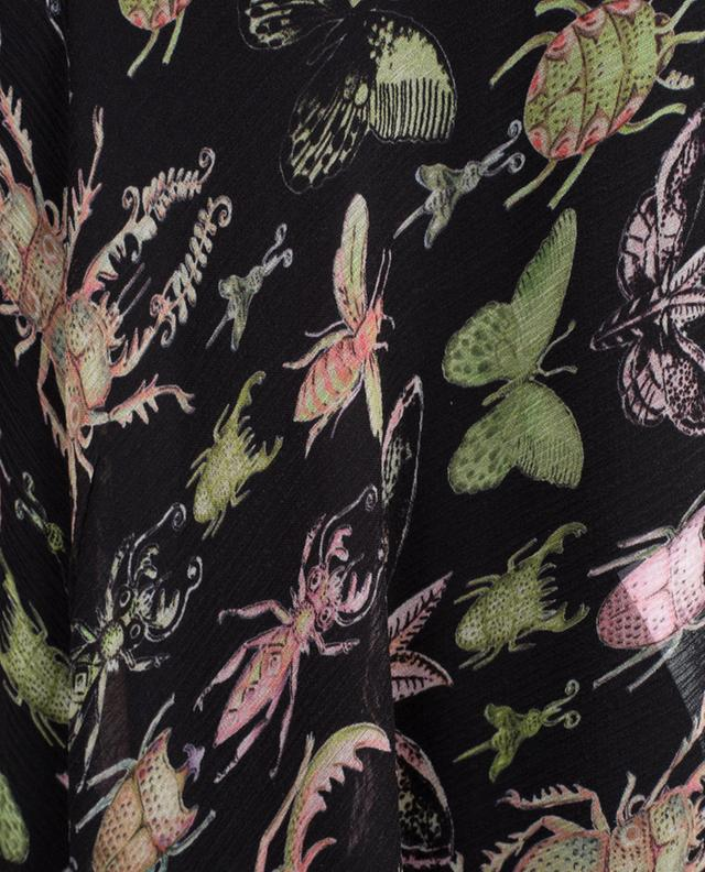 Langes Kleid aus Seide Insects RED VALENTINO