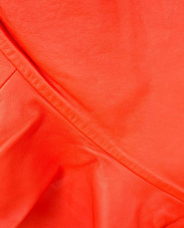 Erin leather mini skirt DESIGNERS REMIX
