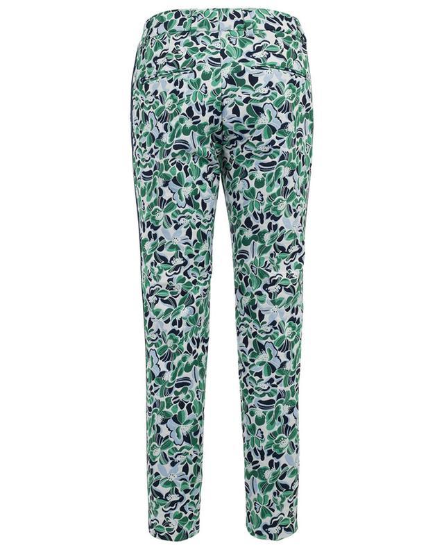 Dora Stripe cotton blend trousers RAFFAELLO ROSSI