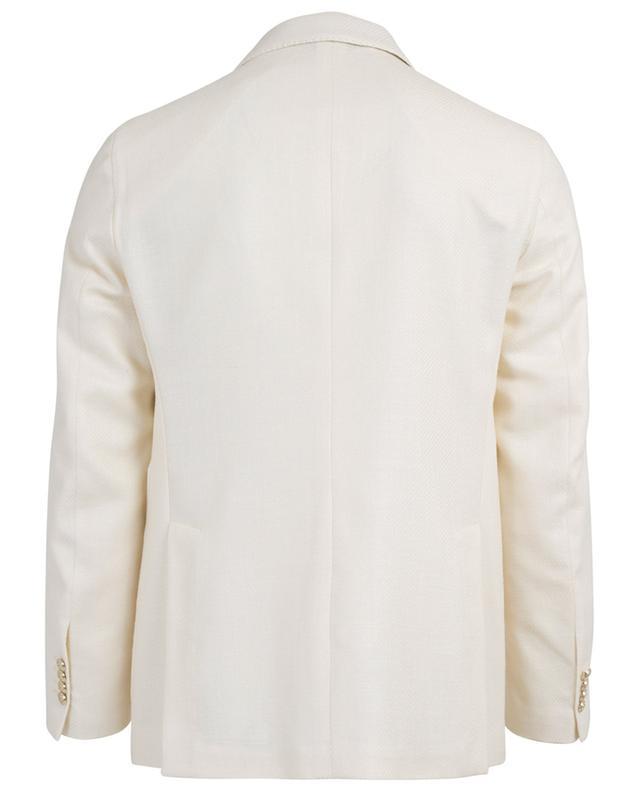 Virgin wool blend blazer jacket ATELIER BG