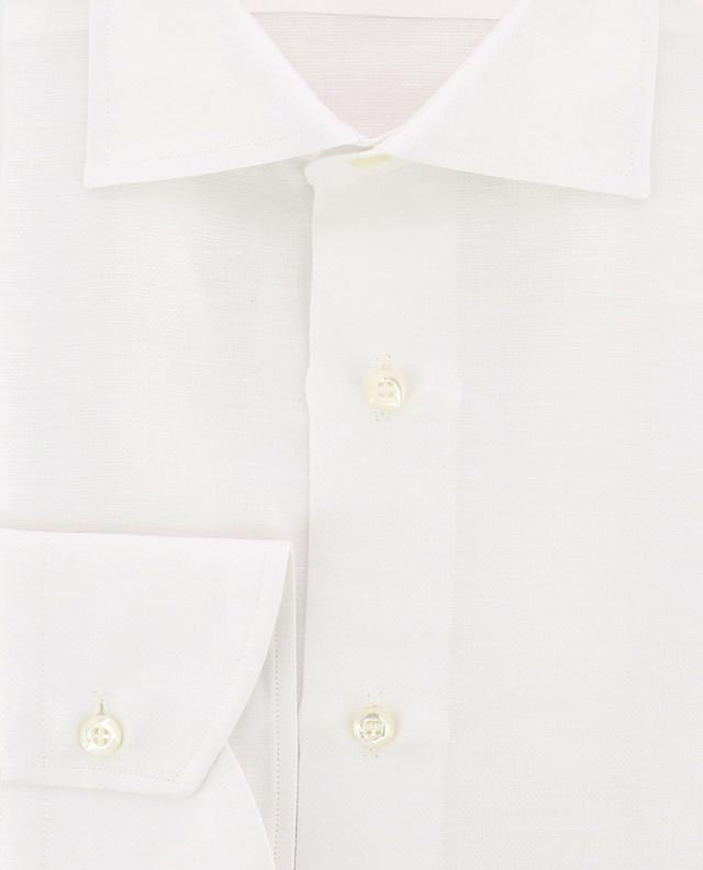 Textured cotton and linen shirt BRULI