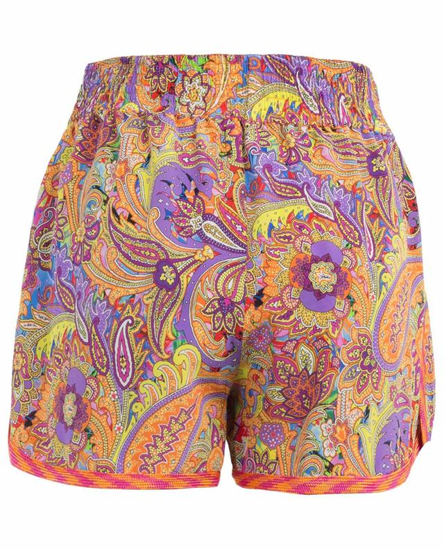 Printed silk shorts ETRO