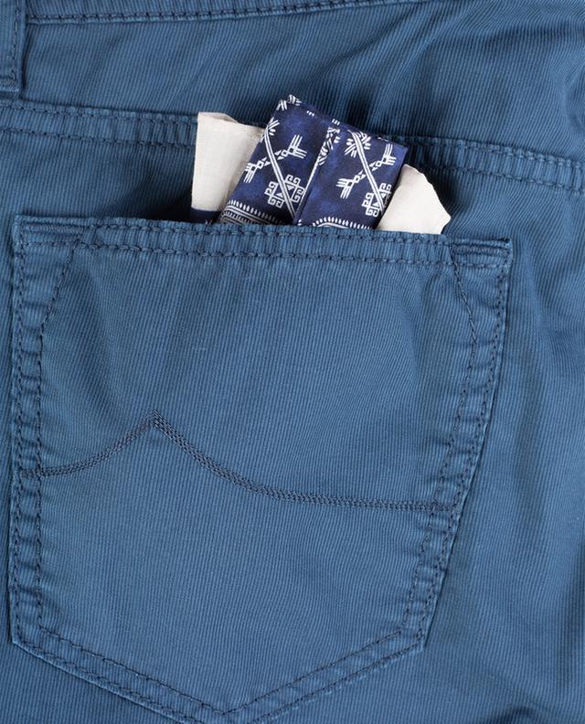 Pantalon droit en coton mélangé côtelé JACOB COHEN