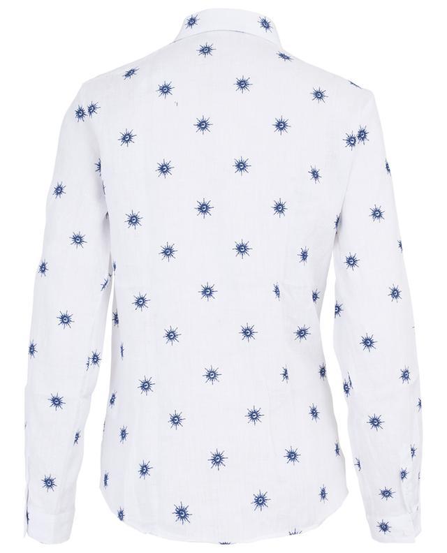 Besticktes Hemd aus Leinen CAMICETTASNOB