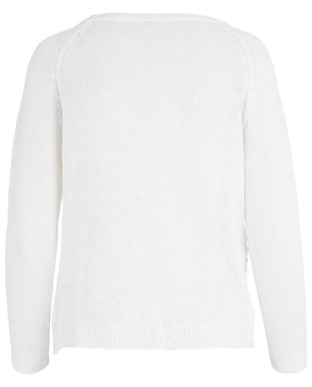 Pullover aus Leinen mit Klöppelspitze BONGENIE GRIEDER