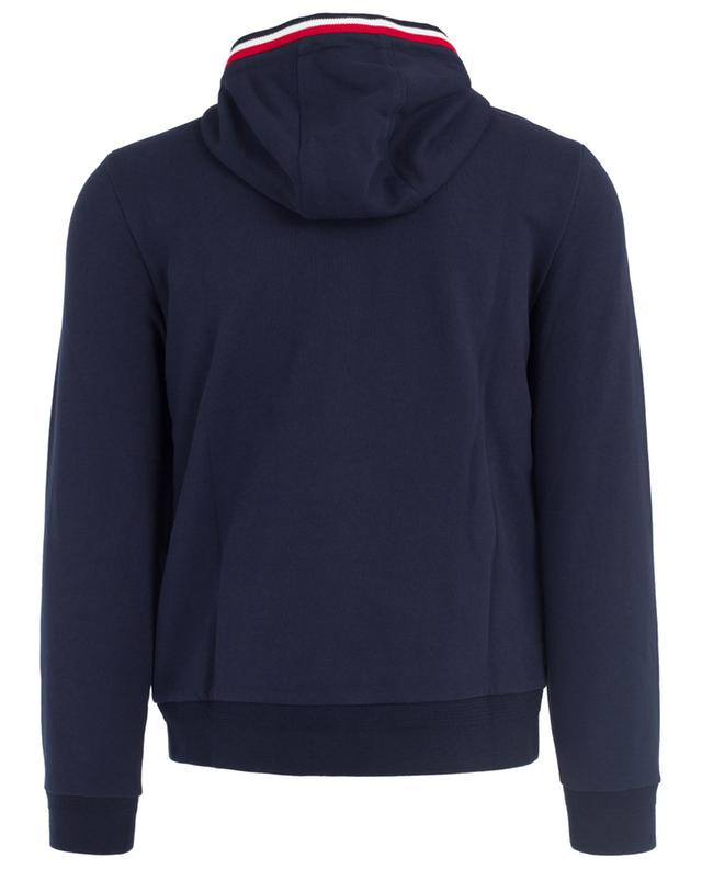 Sweat-shirt zippé bi-matière MONCLER