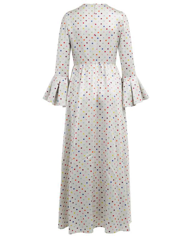Langes, bedrucktes Lamé-Kleid VALENTINO