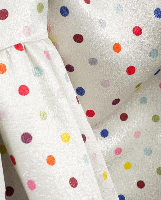 Robe longue en lamé imprimé VALENTINO