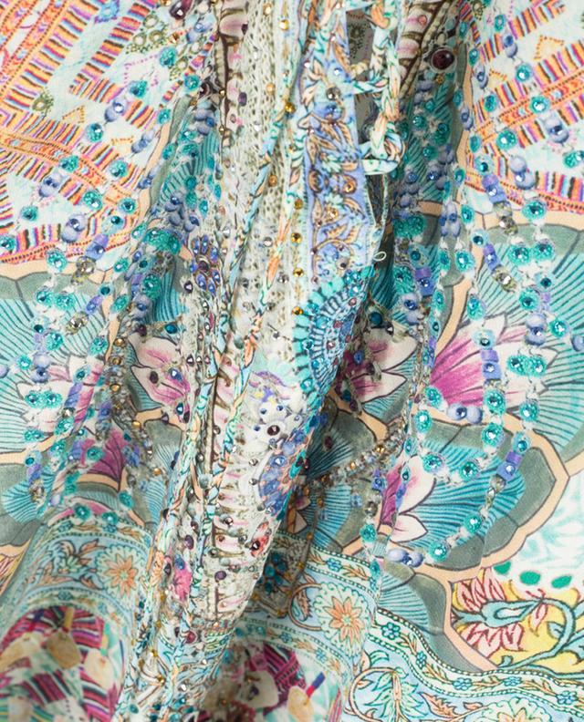 Robe en soie Sisters Of The Marigold AGENT CAMILLA