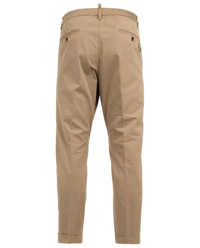 Pantalon en coton avec patches DSQUARED2
