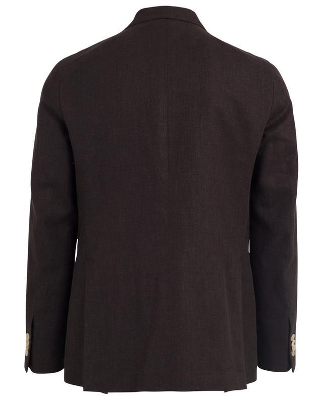 Aida linen and cotton blazer CARUSO