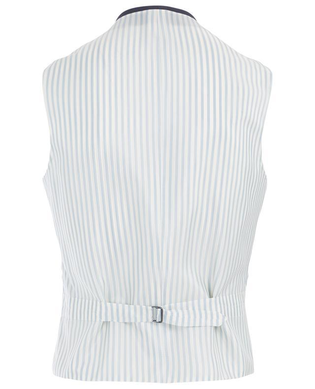 Fefe cotton and linen waistcoat CARUSO