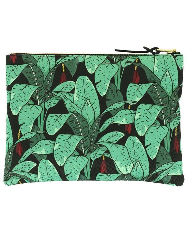 Jungle Large fabric flat pouch WOOUF