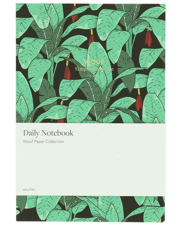 Jungle A5 notebook WOOUF