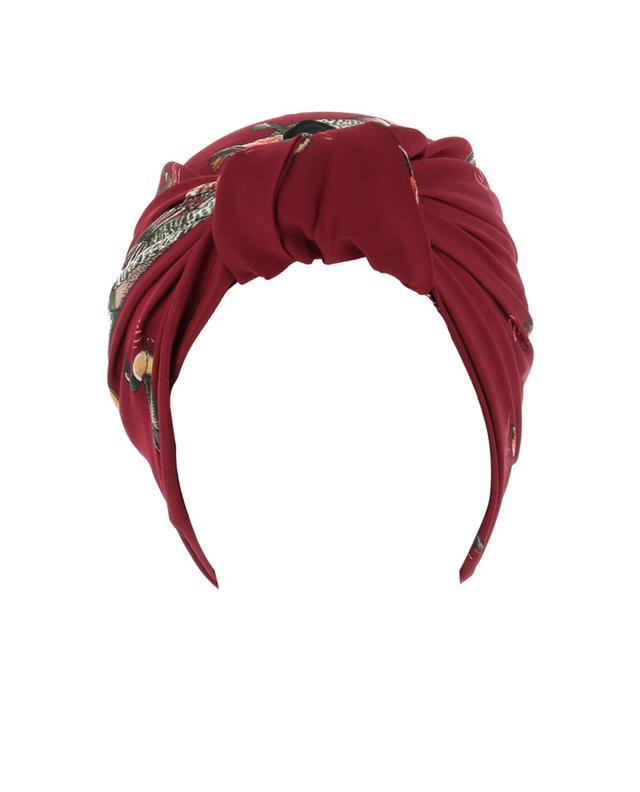 Parisienne printed turban INDIRA DE PARIS
