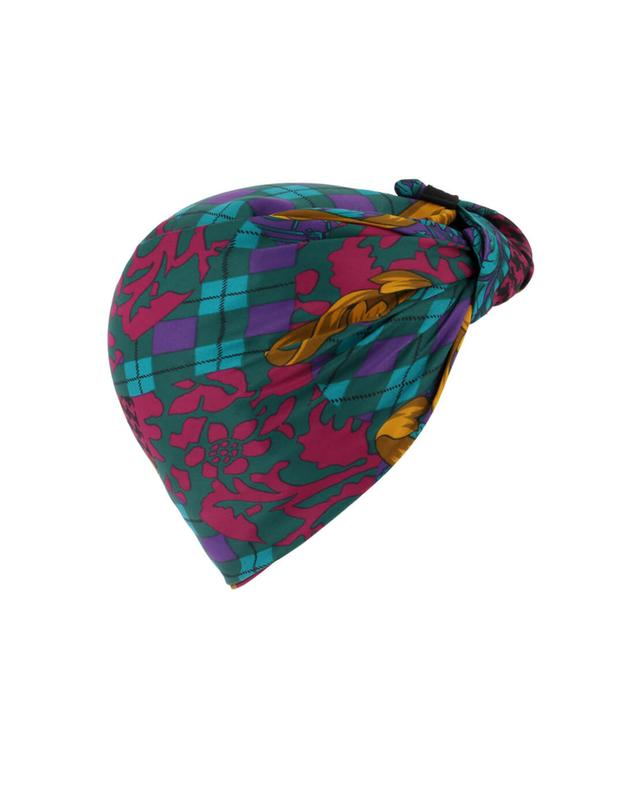 Parisienne printed turban INDIRA DE PARIS