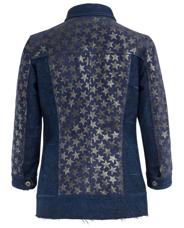 Denim and suede jacket SUPREMA