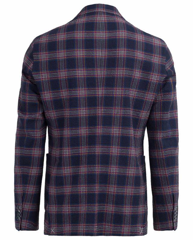 Chequered cotton blend blazer ETRO
