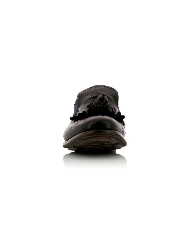 Mocassins en lin et cuir de veau Shangai 11 CHURCH