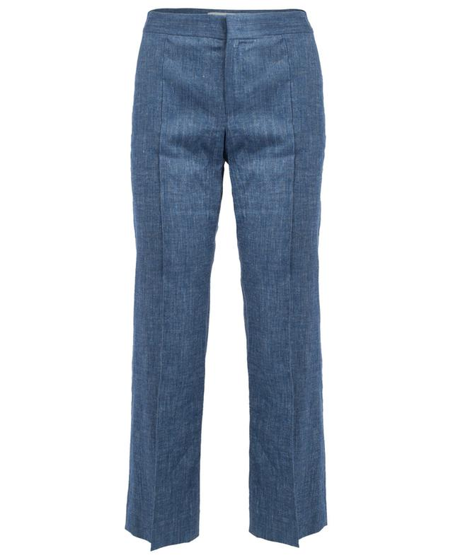 Straight linen blend trousers ISABEL MARANT