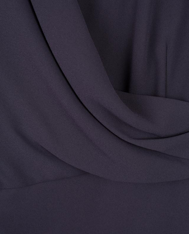 Wrap effect midi dress WINDSOR