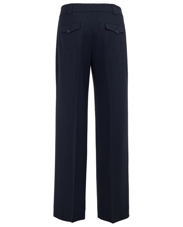 Virgin wool blend wide leg trousers WINDSOR