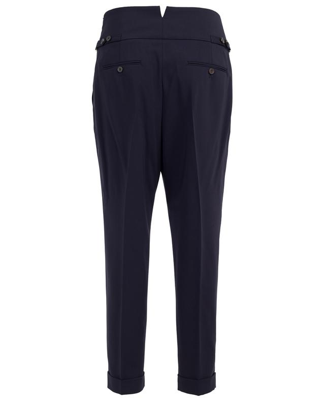 Virgin wool coated trousers WINDSOR