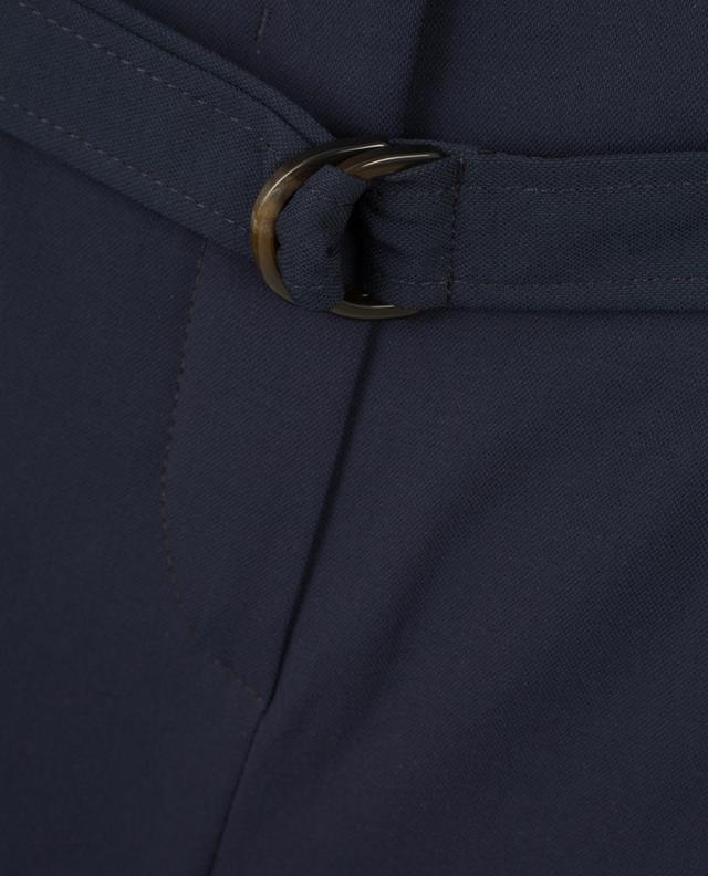 Virgin wool blend divided skirt WINDSOR