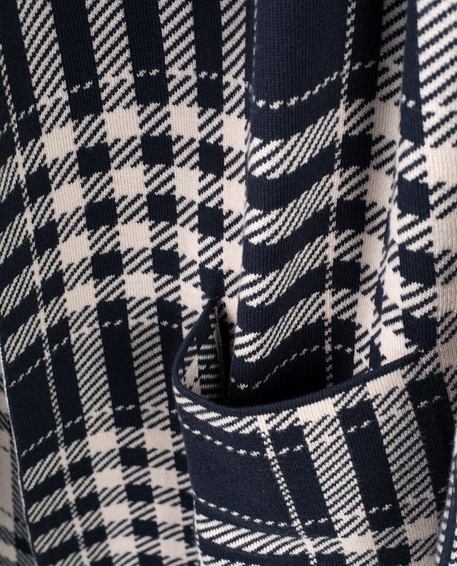 Manteau en laine vierge et coton mélangés WINDSOR