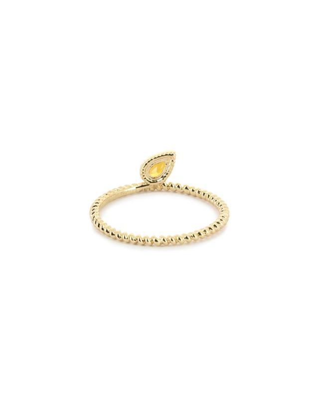 Bague en or avec citrine Charmed LOVINGSTONE