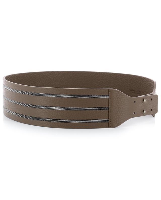Large grained leather belt FABIANA FILIPPI