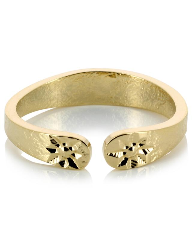 L'Étoile gold plated ring LOVELY DAY
