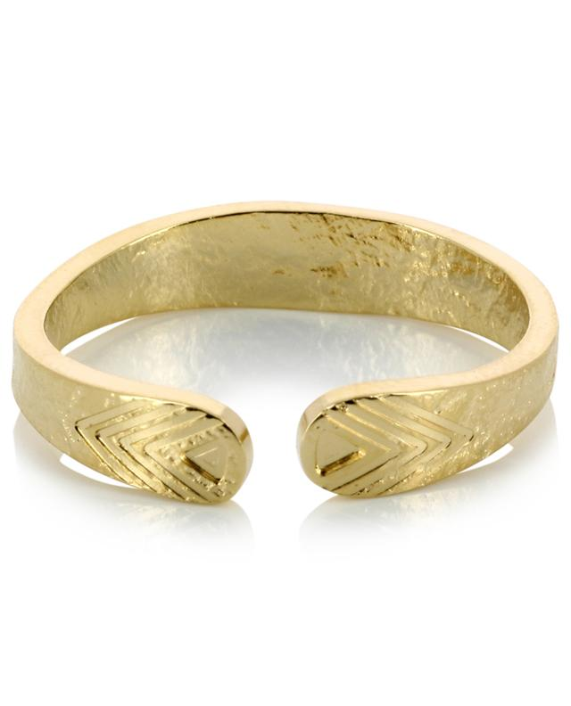 Le Temple gold plated ring LOVELY DAY