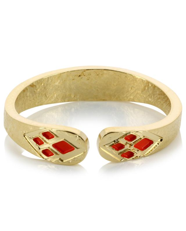 L'Ordre Rouge gold plated ring LOVELY DAY
