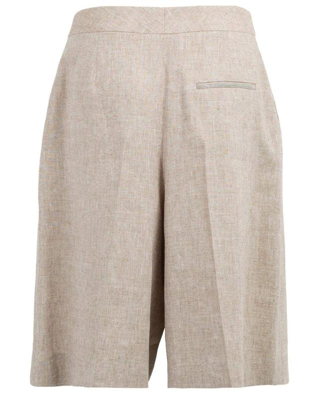 Shorts aus Leinen und Seide FABIANA FILIPPI