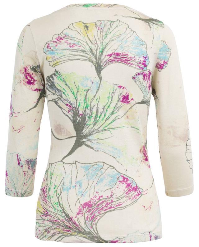 Printed silk jumper PASHMA