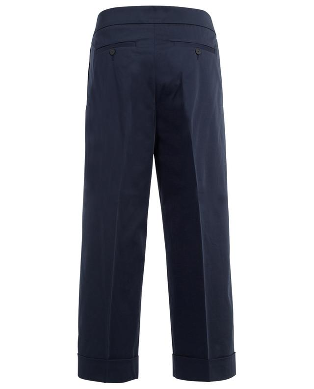 Wide-leg cropped cotton trousers FABIANA FILIPPI