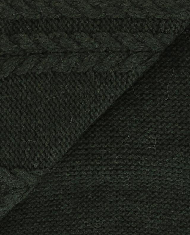 Wool and alpaca blend scarf MONCLER