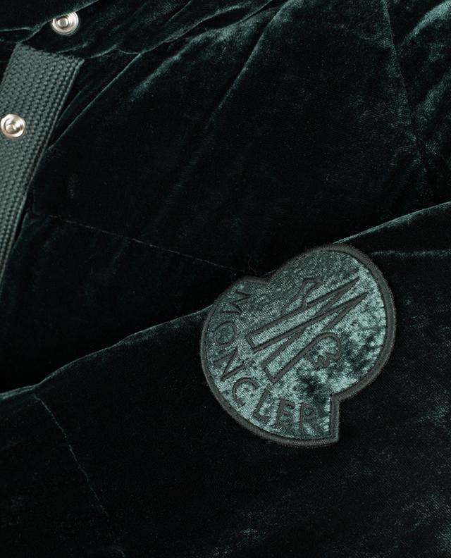 Buto velvet down jacket MONCLER