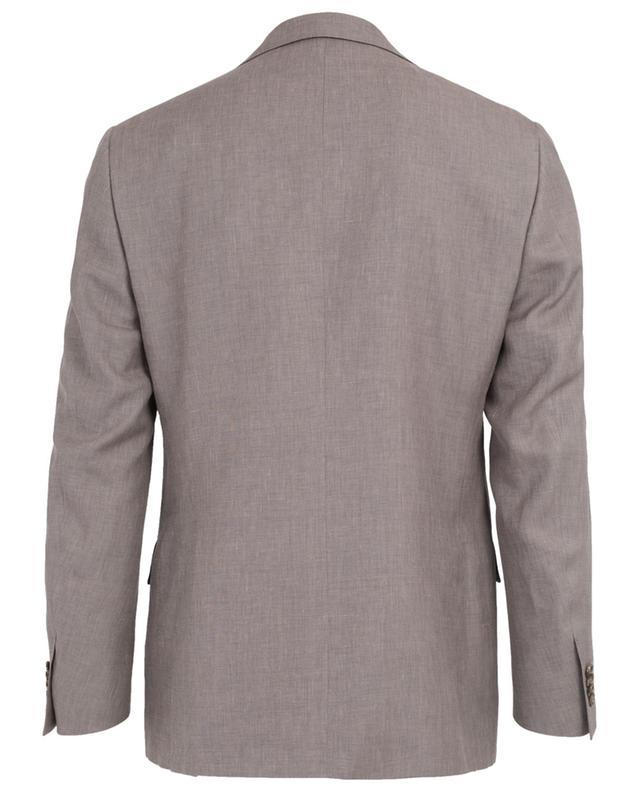 Leader linen blend suit CORNELIANI