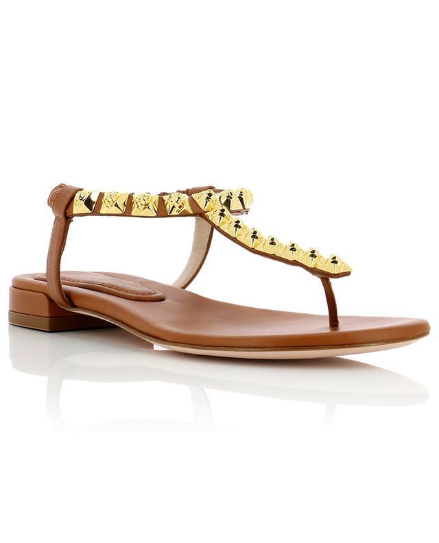 Sandales plates en cuir Esme STUART WEITZMAN