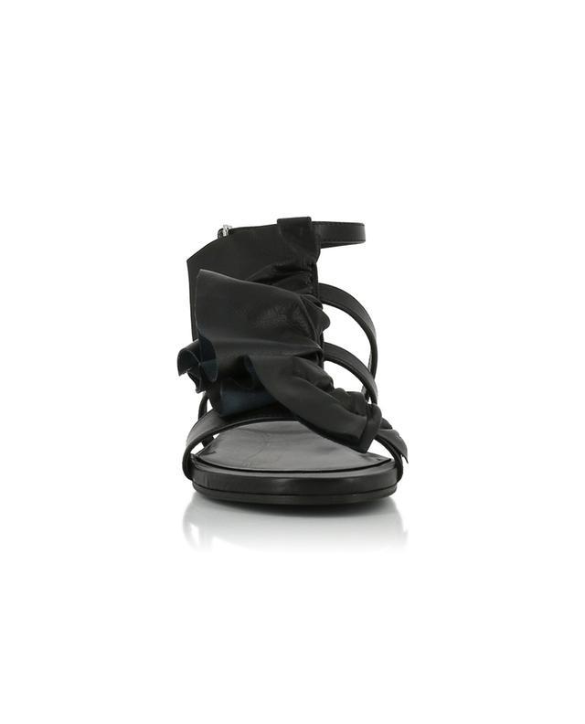 Flache Sandalen aus Leder VIC MATIE