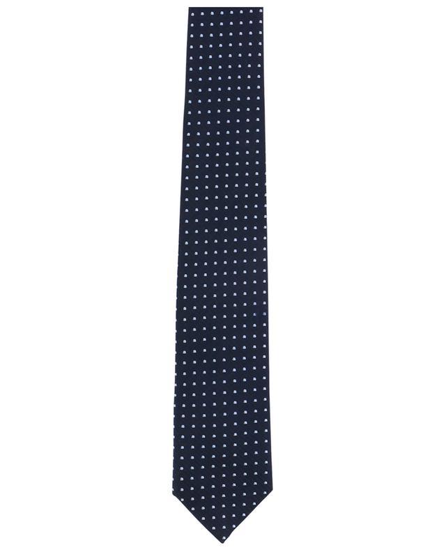 Cravate en soie mélangée Windsor DAL LAGO
