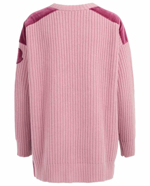 Wool and cashmere knit jumper MONCLER