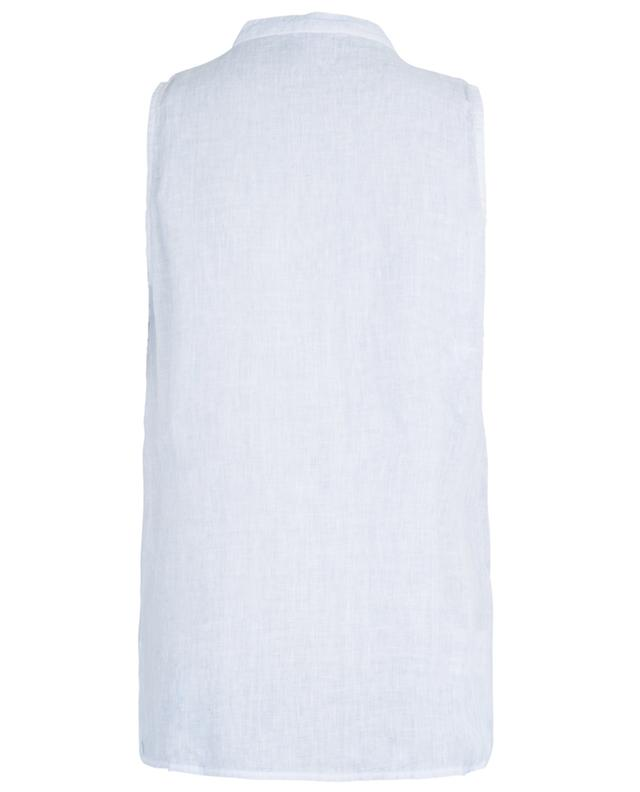 Sleeveless linen top 120% LINO