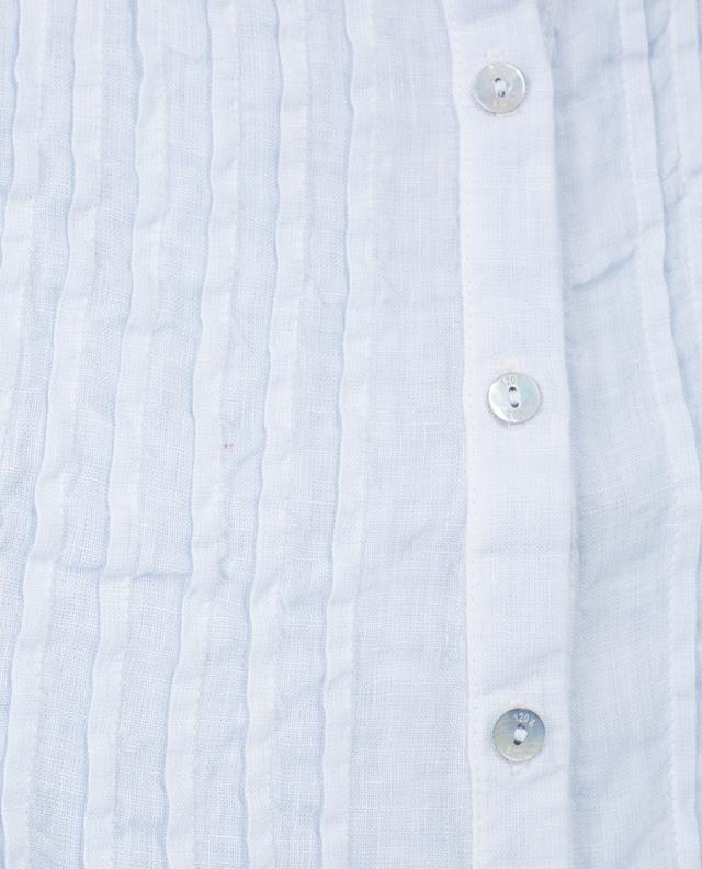 Sleeveless linen top 120% LINO